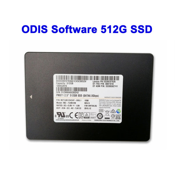 ODIS Software V6.10 VW Audi Elsawin 6.0 Vag ETKA 8.2 ODIS Engineer Software V12.1 Installed In HDD/SSD