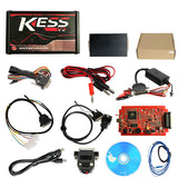 KESS V2 Master Red PCB V5.017 Ksuite SW V2.53EU Version No Token Limited Supports Online ECU Chip Tuning Tool - VXDAS Official Store