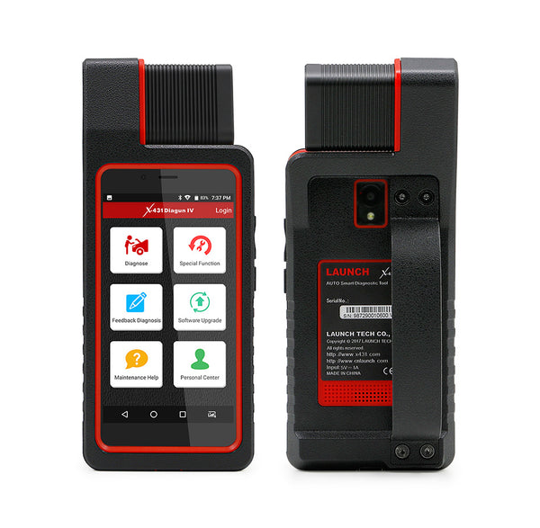 Launch X431 Diagun IV Auto Full System Diagnostic Tool Support Bluetooth/Wifi with 2 Year Free Update - VXDAS Official Store