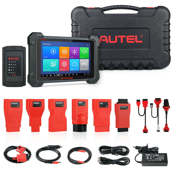 Autel MaxiCOM MK908 Full System Diagnostic Tool Support ECU/Key Coding Updated Version of Maxisys MS908 - VXDAS Official Store