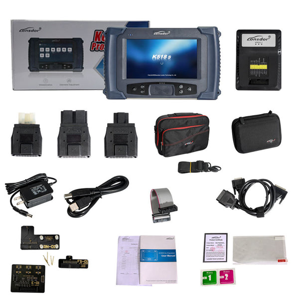 Lonsdor K518S Key Programmer Basic Version No Token Limitation Supports All Makes and Odometer Adjustment Function - VXDAS Official Store