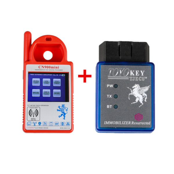 TOYO KEY OBD II Key Pro For Toyota ID72(G) G & H all key lost Works with MINI CN900/ND900 - VXDAS Official Store