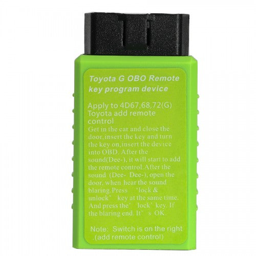 Toyota G and Toyota H Chip Vehicle OBD Remote Key Programming Device - VXDAS Official Store