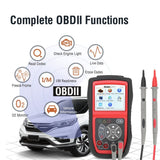Autel AutoLink AL539 OBDII CAN Professional Electrical Test Tool OBD 2 Code Reader One-Click I/M Free Update - VXDAS Official Store