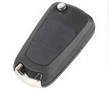 Car Remote Key for Opel Astra H 2 Buttons 433MHz Remote Controls