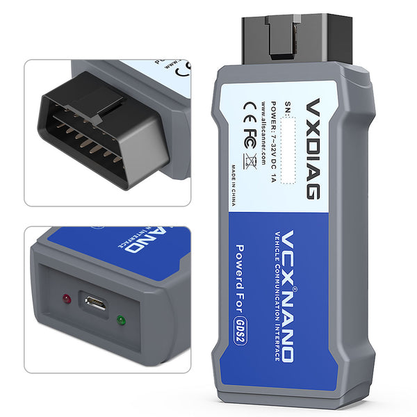 VXDIAG VCX NANO GDS2 and TIS2WEB for GM/OPEL Diagnostic Tool - VXDAS Official Store