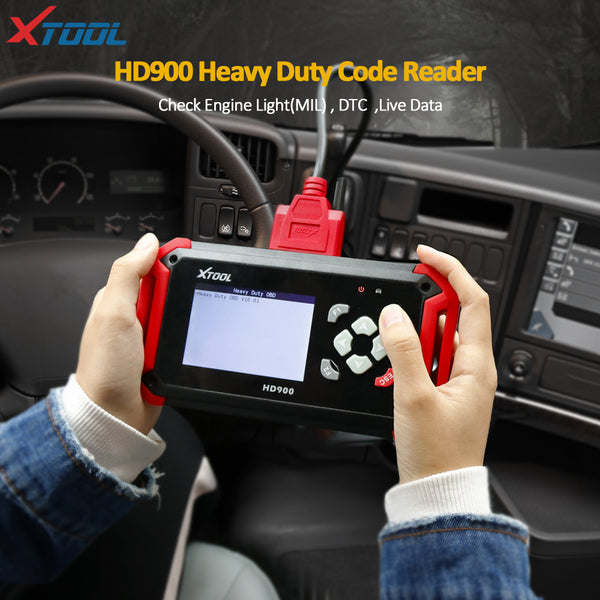 XTOOL HD900 Eobd2 OBD2 CAN BUS Heavy Duty Truck Diagnostic Scanner XTOOL HD900 Code Reader - VXDAS Official Store