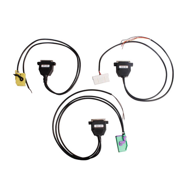 Full Set Cables for Digiprog III Digiprog 3 Odometer Programmer - VXDAS Official Store