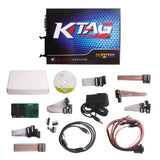 V2.11 KTAG K-TAG Master Firmware V6.07 ECU Programming Tool With Unlimited Token & Free ECM TITANIUM V1.61 - VXDAS Official Store