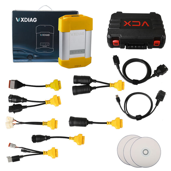Allscanner VXDIAG VCX HD Heavy Duty Truck Diagnostic System for CAT, VOLVO, HINO, Cummins, Nissan With WIFI - VXDAS Official Store