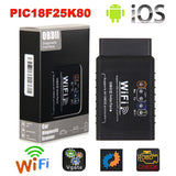 ELM327 WIFI OBD2 EOBD Scan Tool Support Android and iPhone/iPad Software V2.1 - VXDAS Official Store