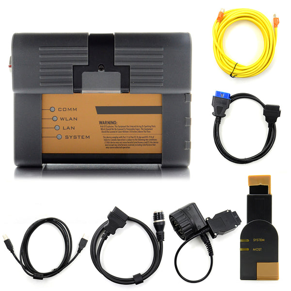 ICOM A2+B+C Diagnostic & Programming Tool for BMW and MINI Without Software - VXDAS Official Store