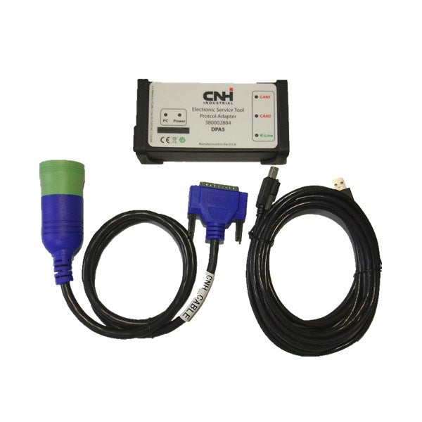 CNH DPA5 Kit Diagnostic Tool Dearborn Protocol Adapter 5 New Holland Electronic Service Tools