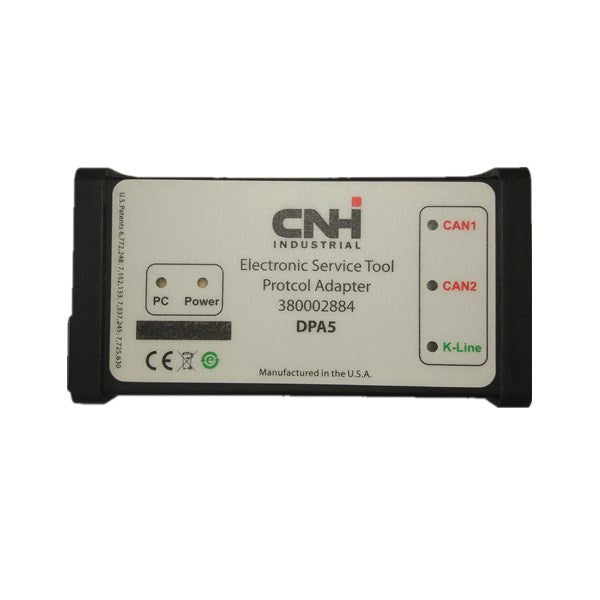 CNH DPA5 Kit Diagnostic Tool Dearborn Protocol Adapter 5 New Holland Diagnostic Tool - VXDAS Official Store