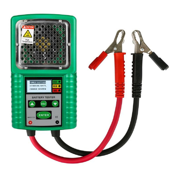 DUOYI DY226A 6V/12V DC 3 In 1 Automotive Battery Tester Traction Auto Power Load Starting Charge CCA Battery Measurement Test Tool - VXDAS Official Store