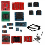 Full Set 21pcs Socket Adapters for Super Mini Pro TL866A/TL866CS EEPROM Programmer - VXDAS Official Store