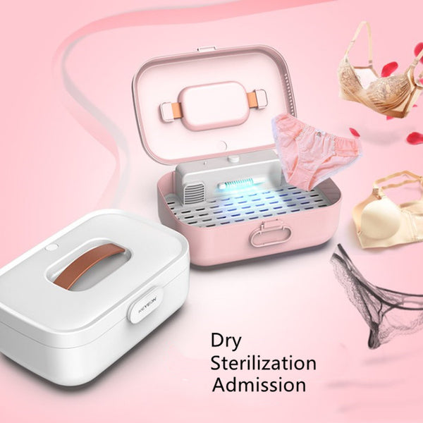 2pcs Sterilizer for underwear and underpants mini portable dry box UV mobile toothbrush for sterilization - VXDAS Official Store