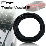 Car Door Seal Strip Noise Insulation Anti-Dust Soundproofing Car Rubber Seal For Tesla Model 3 - VXDAS Official Store