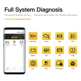 Humzor NexzDAS ND201 Full-System Diagnosis Tool OBD2 Scanner for Single Car Manufacturer with ABS, TPMS, DPF... - VXDAS Official Store