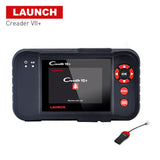 Launch X431 Creader VII Plus VII+ Auto Code Reader OBD2 OBD 2 Scanner OBDII Diagnostic Tool Automotive Scan Tool same as CRP123 - VXDAS Official Store