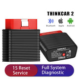 Launch Thinkcar 2 Thinkdriver Bluetooth Full System OBD Diagnostic Car Scanner for IOS & Android