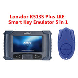 Lonsdor K518S Key Programmer Full Set K518 No Need Tokens Free Update Online With Odmeter Adjustment Cover - VXDAS Official Store