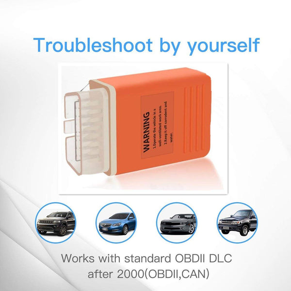 VXDAS Bluetooth OBD2 Scanner Code Reader Professional OBDII Scan Tool for Android Devices Wireless ODB 2 Check Engine Light EZYOBD - VXDAS Official Store