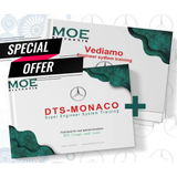 MOE Vediamo and DTS MONACO Engineer System Training Books 2 in 1 for Benz Engineer Software
