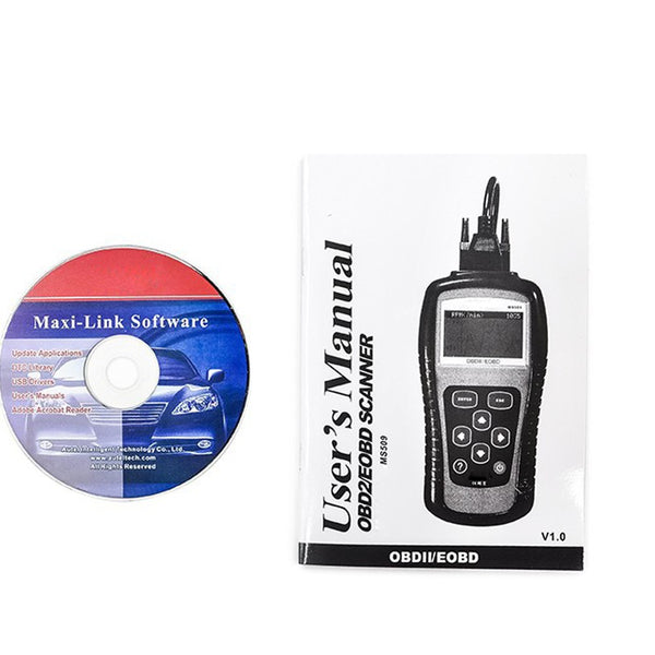 Autel Latest MaxiScan MS509 OBD/EOBD Auto Coder Reader and Scanner - VXDAS Official Store