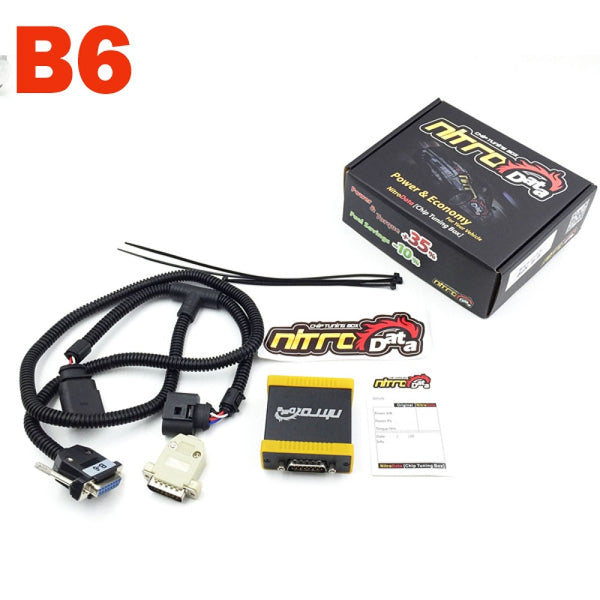 Nitrodata Chip Tuning Box 1-6 for Gasoline Vehicles - VXDAS Official Store