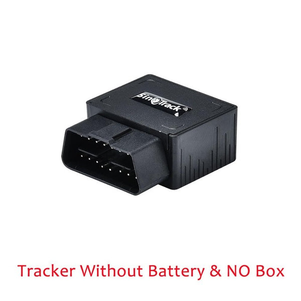 OBD II GPS Tracker 16PIN OBD Plug Play Car GSM OBD2 Tracking Device GPS locator OBDII with online Software IOS Andriod APP - VXDAS Official Store