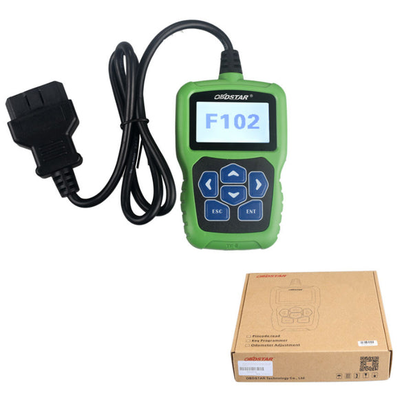 OBDSTAR F102 Automatic Pin Code Reader for Nissan/Infiniti Auto Key programming Mileage Correction F102 Pin Code Calculator - VXDAS Official Store