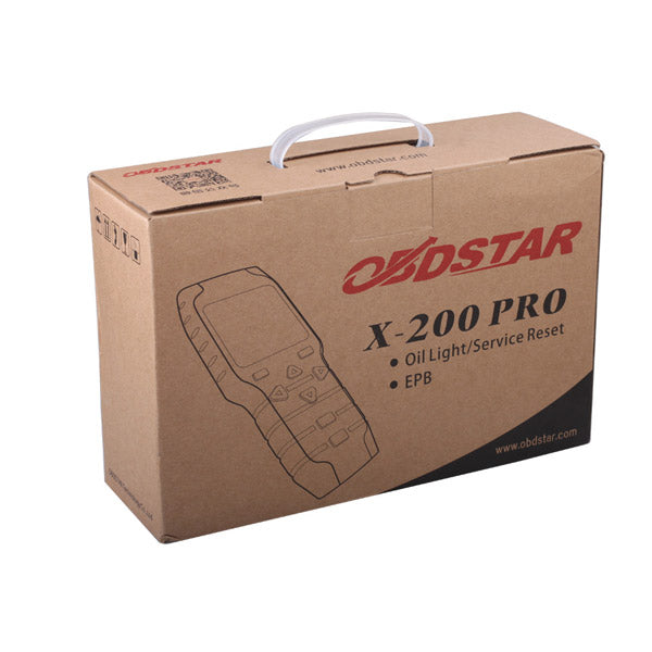 Original OBDSTAR X-200 X200 Pro A Configuration for Oil Reset + OBD Software - VXDAS Official Store