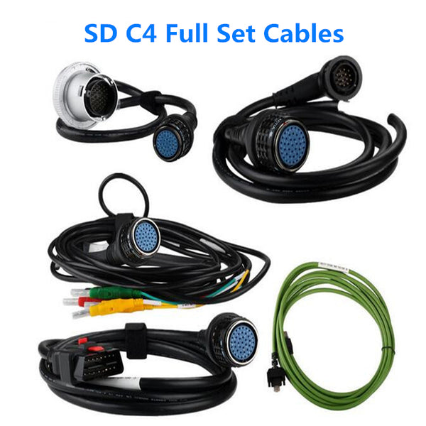MB Star C4 Cables Full Set C4 Full Connection Cables 5pcs