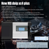 SD Connect C5 DOIP MB Star Diagnosis Support DOIP for Mercedes Benz Cars and Trucks till 2020