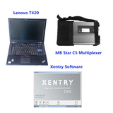 MB SD Connect C5 with Lenovo Laptop and V2020.09 Software 500G HDD Full Set Ready to Use