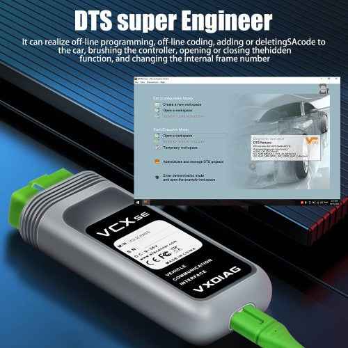 VXDIAG VCX SE for Benz Diagnostic & Programming Tool Support Benz till 2020