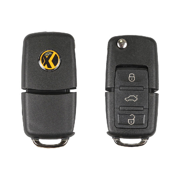 XHORSE X001-01 Volkswagen B5 Style Special Remote Key 3 Buttons for VVDI Mini Key Tool 5pcs/lot - VXDAS Official Store