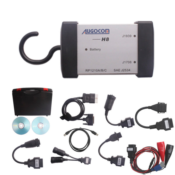 AUGOCOM H8 Multi DIAG Heavy Truck Scan Tool Support Multi-language and Online Update - VXDAS Official Store