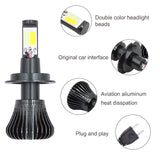 Dual H1 Color Bulb H3 PSX24W H16 Ice HB4 Fog led Blue H11 881 Car LYMOYO 9005 H8 12v H7 9006 White / HB3 Yellow DRL H27 880 - VXDAS Official Store