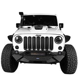 Front Road (Pack Inserts of Jeep Clip-in Hooke Wrangler Unlimited & 2007-2015 Matte JK Mesh for Grille Black 7) - VXDAS Official Store