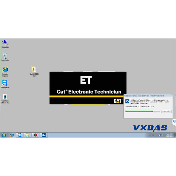 CAT ET Software 2018A V1.0 Caterpillar ET Diagnostic Software with Installation and Activation Service - VXDAS Official Store