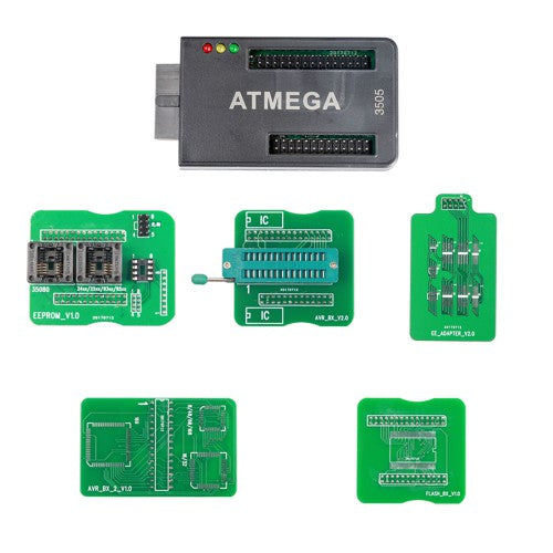CG100 ATMEGA Adapter for CG100 PROG III Airbag Tool with 35080 EEPROM and 8pin Chip reading and writing - VXDAS Official Store
