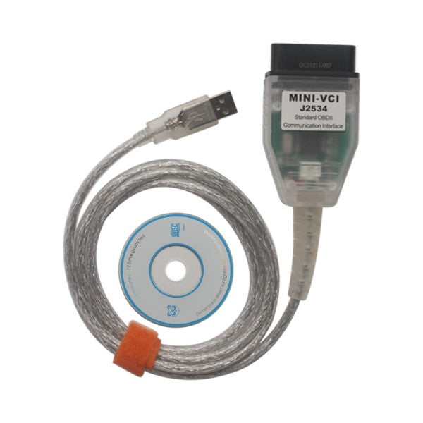 TIS Techstream MINI VCI J2534 Cable For Toyota V13.00.022 Techstream - VXDAS Official Store
