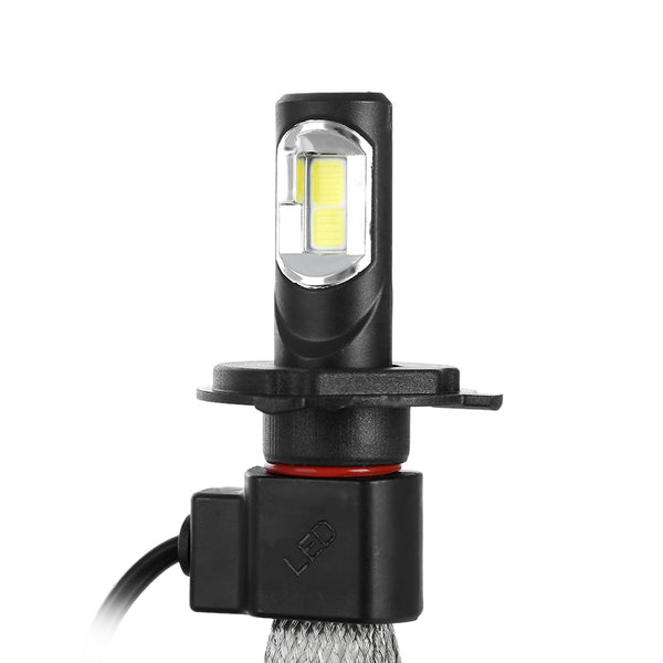 LED Car H1 H4 H7 Led Lamp H27 H3 HB3 HB4 H11 H13 9004 9007 LED Headlamp Lamps s7 60 W 6400lm 6000 K Auto Headlight 12 v 24 V - VXDAS Official Store