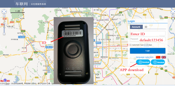 GPS car tracker GT02A 4 link Google real-time tracking - VXDAS Official Store