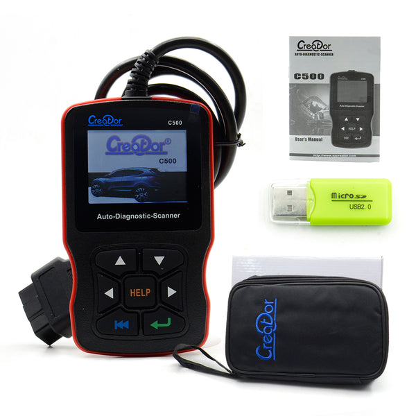 Creator C500 Auto Diagnostic Scanner for OBDII / EOBD / BMW/ Honda/ Acura - VXDAS Official Store