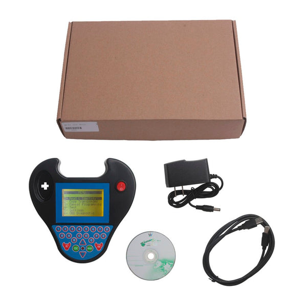 Zed-Bull Mini Auto Transponder Key Programmer with Multi Language No Token Need - VXDAS Official Store