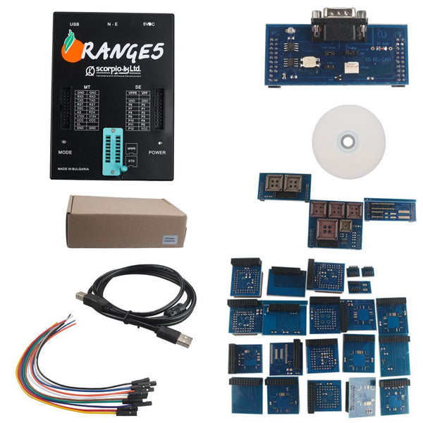OEM Orange 5 Professional Programming Device With Full Packet Hardware + Enhanced Function Software  - VXDAS Official Store
