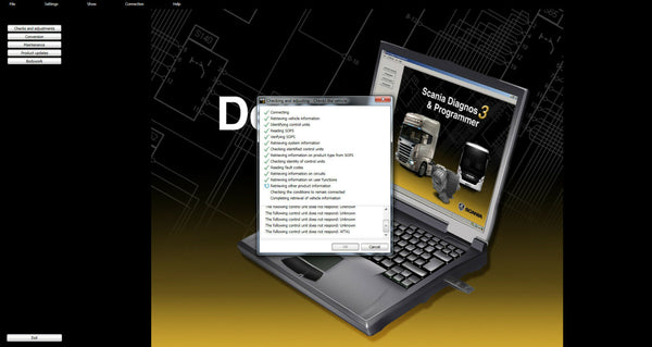 Scania SDP3 2.43.1 Diagnosis & Programming Software for Scania VCI 3 VCI3 without Dongle